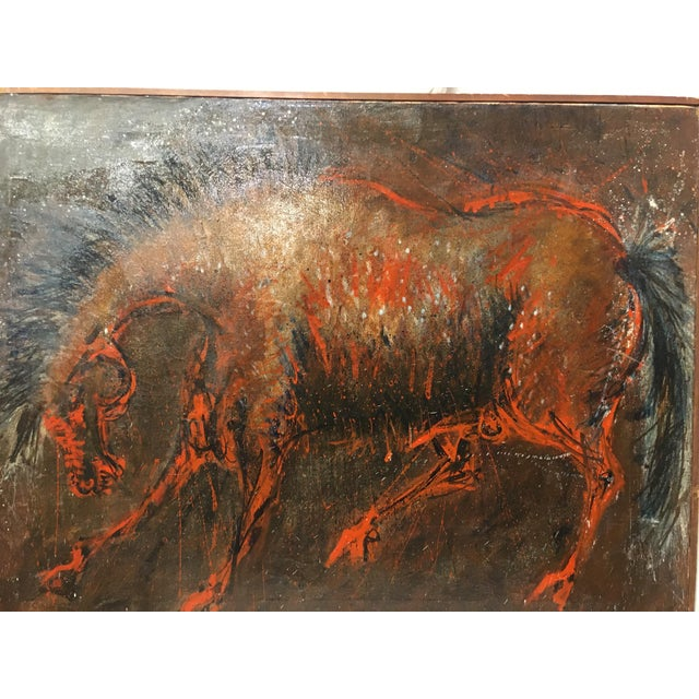 Vintage Mid-Century Oil Painting on Canvas by D. Rogers For Sale In San Francisco - Image 6 of 9