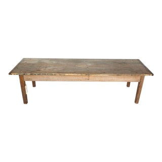 Antique Farmhouse Coffee Table