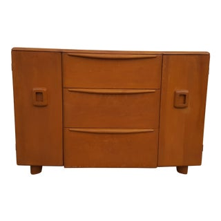 1950's Heywood Wakefield Sideboard Credenza For Sale