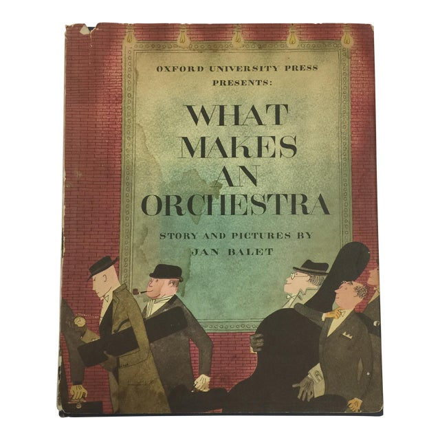 What Makes an Orchestra 1951 Jan Balet For Sale