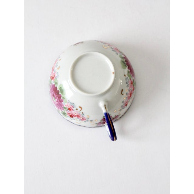 Antique Tea Cup With Gilt For Sale - Image 6 of 10