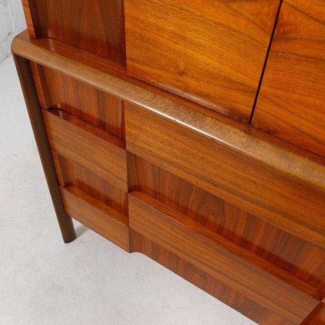 Swedish Modern Walnut Dresser by Edmund Spence - Image 8 of 10