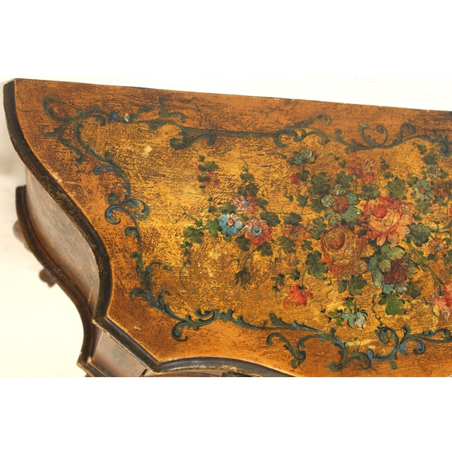 1920s Italian Painted Chest of Drawers For Sale - Image 12 of 13