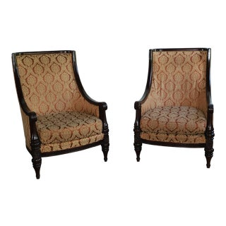 Waldorf Astoria Lobby Chairs - a Pair For Sale