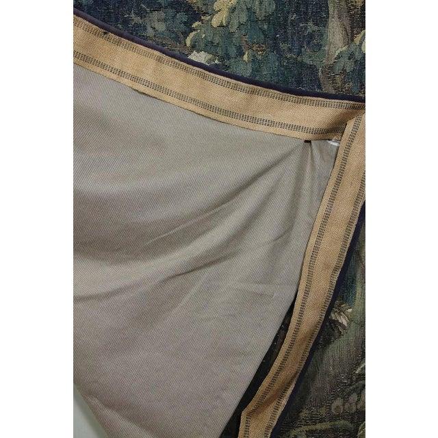 Flemish Verdure Tapestry For Sale - Image 9 of 10