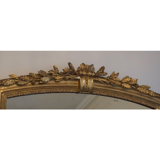 19th Century Louis XV Trumeau Mirror For Sale - Image 4 of 8