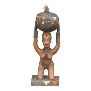 Antique African Fertility Statue For Sale