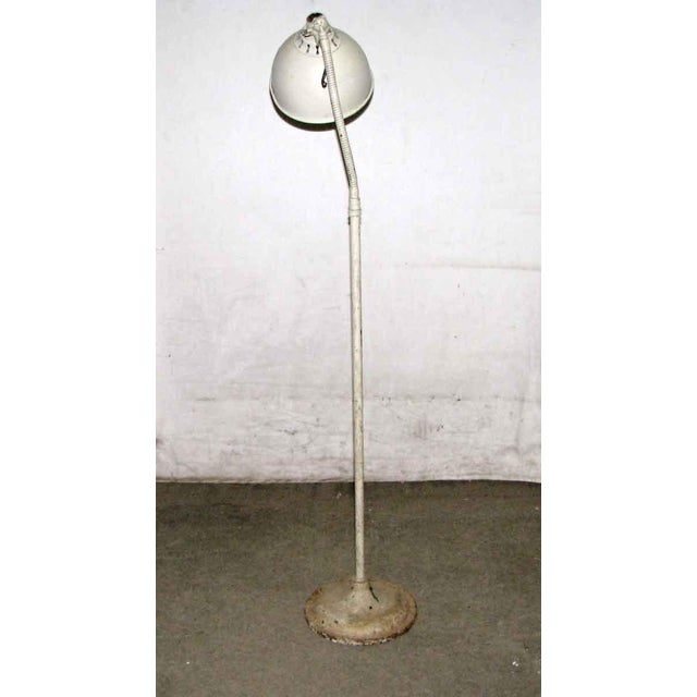 Vintage goose neck industrial standing lamp. Very cool look! Needs rewiring-please inquire. Priced as is.