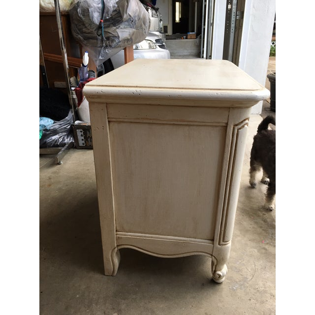 Hickory Manufacturing Company French Nightstands- A Pair - Image 11 of 11