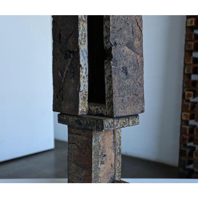 Tim Keenan Large Scale Ceramic Sculpture For Sale - Image 4 of 13