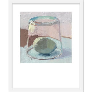 "Medium ""Blue Egg Under Glass"" Print by Caitlin Winner, 18"" X 22"" For Sale"
