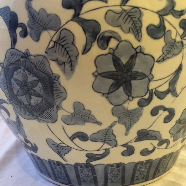 Vintage Chinoiserie Cachepot - Image 4 of 6