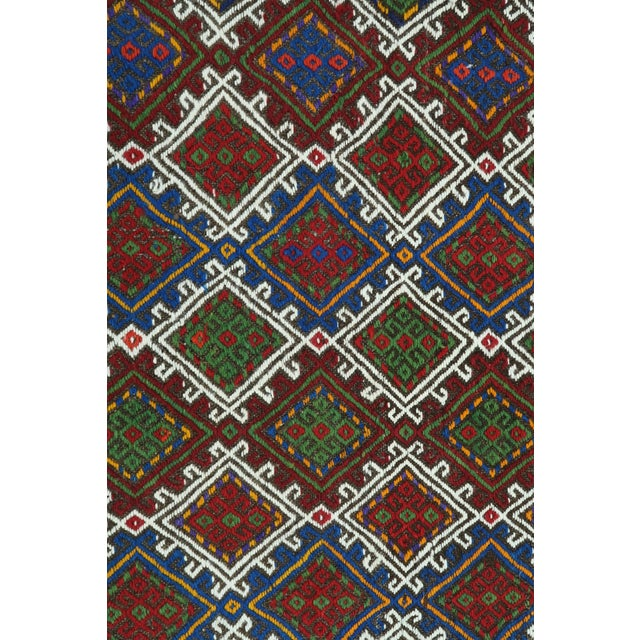 "Vintage Anatolian Kilim Runner-2'11'x11'2"" For Sale - Image 6 of 13"