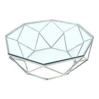 Modern Geometric Coffee Table