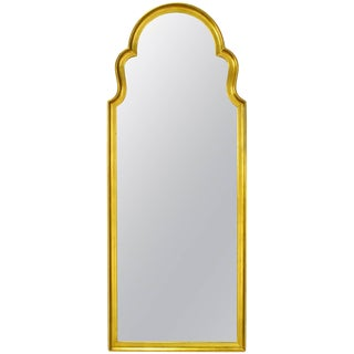 Tall Moorish Style Giltwood and Gesso Mirror For Sale