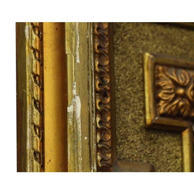 French Victorian Carved Gilt Wood Mirror For Sale - Image 9 of 9