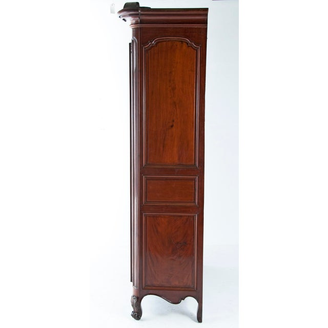 Fruitwood Chateau Armoire - Image 3 of 6