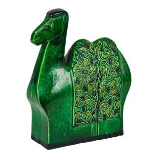 1960s Bitossi Camel Sculpture by Aldo Londi For Sale