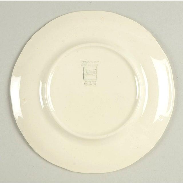 Longchamp Longchamp Moustiers Appetizer Plate - Set of 8 For Sale - Image 4 of 6