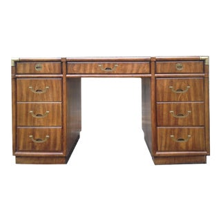 Drexel Accolade Campaign Partner Desk For Sale