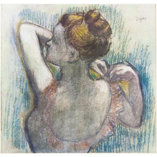 1959 Degas, Art Deco Lithograph of Dancer From Budapest For Sale
