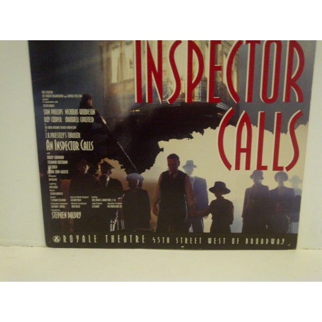 Vintage An Inspector Calls Royal Theatre Poster For Sale - Image 4 of 5