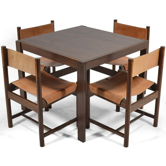 Michel Arnoult Table & Four Chairs For Sale - Image 11 of 11