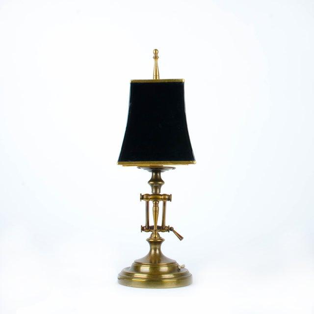 Ethan Allen Articulating Brass Lamp - Image 6 of 11