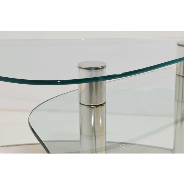 Luxury Pace Collection TwoTier Coffee Table DECASO - Two level coffee table