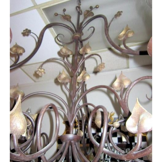 Pierre Picard 9 Light Chandelier - Image 3 of 4