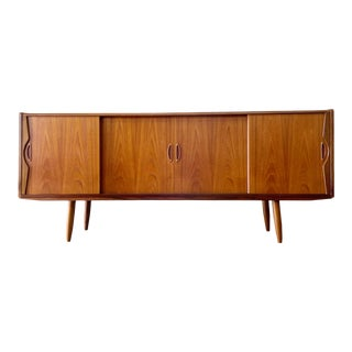 Danish Mid Century Modern Console or Credenza by Westergaard For Sale