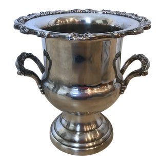 Vintage Silver Oneida Champagne Bucket For Sale