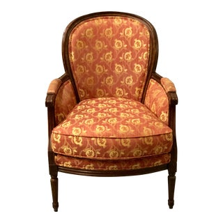 Scalamandre Upholstered Bergere Chair