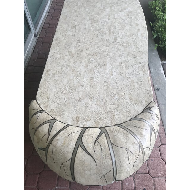 Maitland Smith Tessellated Stone Credenza For Sale In Miami - Image 6 of 12