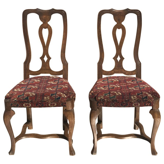 19th Century Continental Side Chairs - A Pair For Sale In Tampa - Image 6 of 6