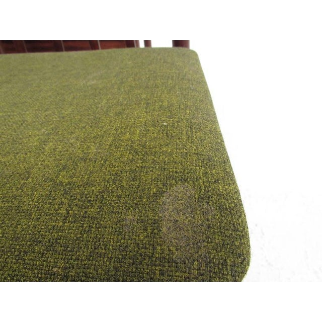 Green Mid-Century Modern Vamo Sonderborg Rosewood Dining Set For Sale - Image 8 of 11