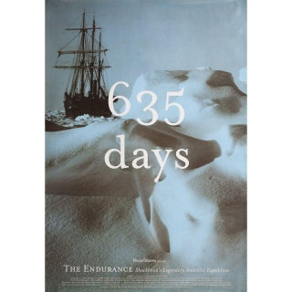 The Endurance: Shackleton's Legendary Antarctic Expedition 2001 U.S. One Sheet Film Poster For Sale