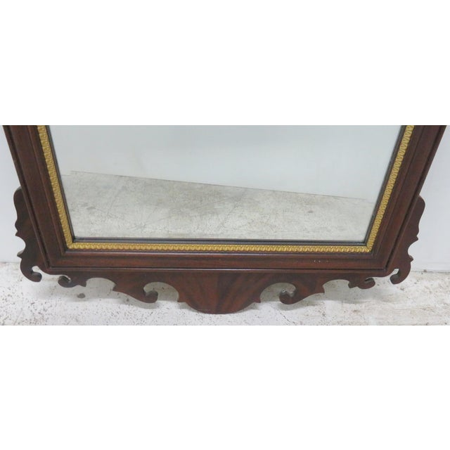 Council Furniture Chippendale Mahogany Mirror - Image 4 of 7