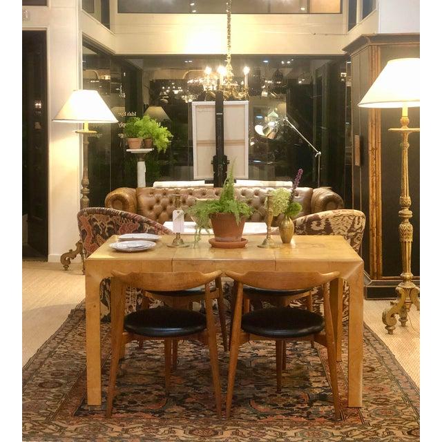 Milo Baughman Milo Baughman Parsons Dining Table For Sale - Image 4 of 9