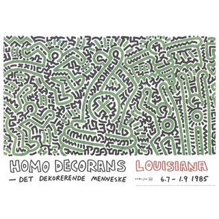Keith Haring, Homo Decorans, Giclee, 2018 For Sale