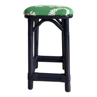 """Palm Beach"" Style Rattan Counter Stool"