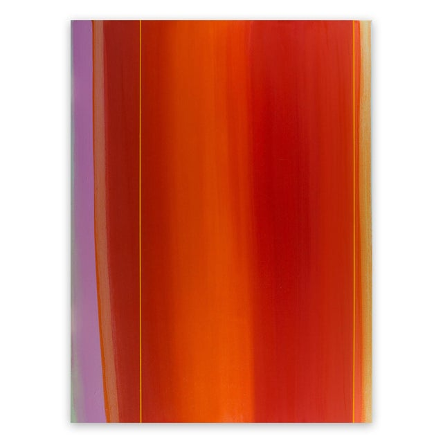 """Matthew Langley Matthew Langley """"Flare"""" Painting For Sale - Image 4 of 4"""
