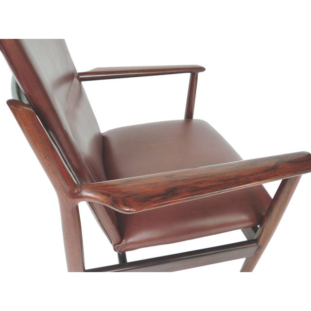 Mid-Century Rosewood Armchairs by Arne Vodder - A Pair - Image 7 of 10