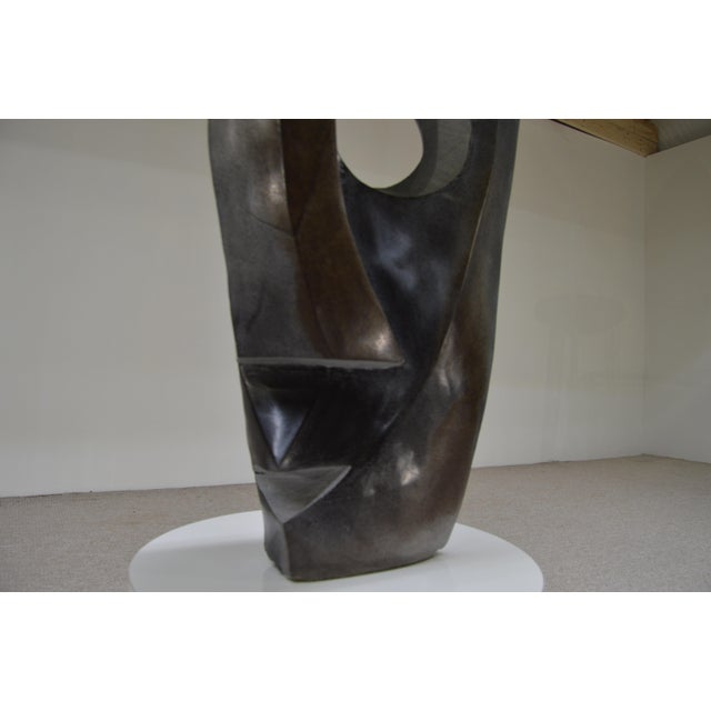 Monumental Pablo Picasso Style Spring Stone Sculpture - Image 3 of 5
