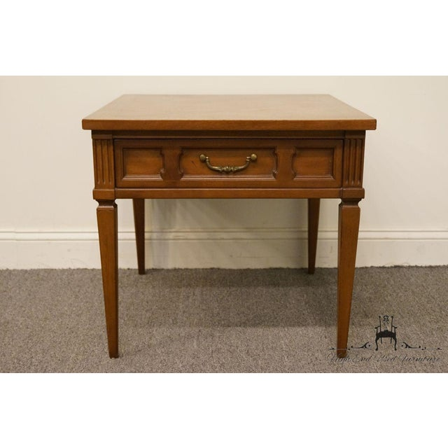 Brown 20th Century French Regency American of Martinsville End Table For Sale - Image 8 of 13