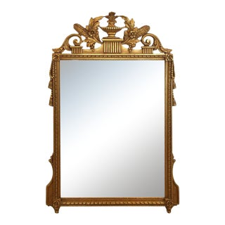 Neoclassical Gilded Mirror