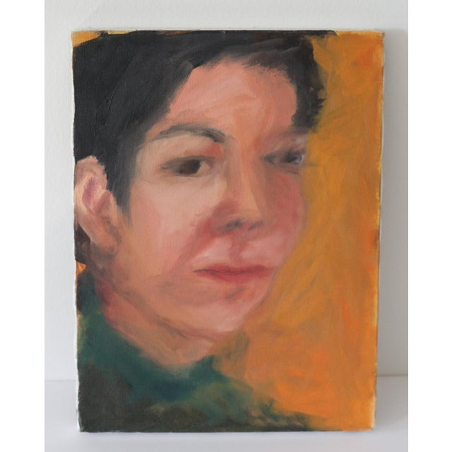 Portrait of a Woman Painting by Janet Mamon - Image 2 of 7