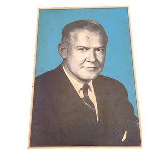 American Portrait From 1960s For Sale