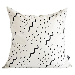 Modern Waves Pillow For Sale