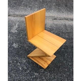 Reitveld for Cassina Zig Zag Chair Preview